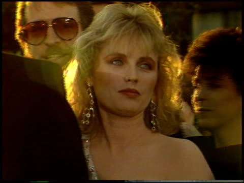 tess harper at the 1987 academy awards at dorothy chandler pavilion in los angeles california on march 30 1987 - dorothy chandler pavilion stock videos & royalty-free footage