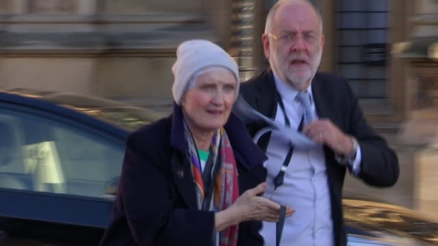 tessa jowell receives rare standing ovation in house of lords after speech on cancer england london houses of parliament ext baroness jowell along - receiving stock videos & royalty-free footage