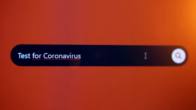 test for coronavirus - search engine stock videos & royalty-free footage