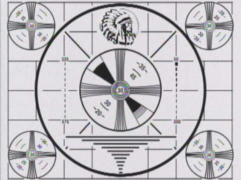 test pattern with native american head - indigenous north american culture stock videos and b-roll footage