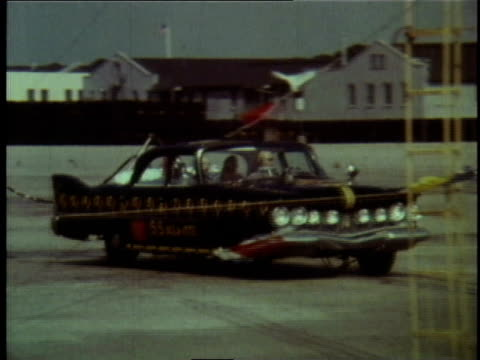 1978 montage test vehicles recreating an accident / united states - 1978 stock videos and b-roll footage