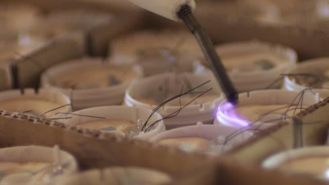 testing light bulbs - energy efficient lightbulb stock videos & royalty-free footage