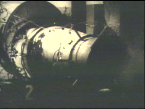 testing of an early jet engine - jet engine stock videos & royalty-free footage