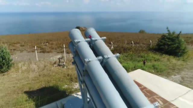 testing process of turkey's 1st maritime missile is in the final stage, defense industries presidency chairperson ismail demir said tuesday . demir... - chairperson stock videos & royalty-free footage