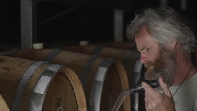 Testing wine