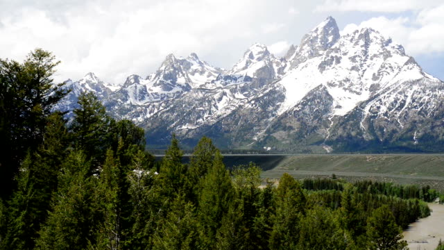 Teton Mountain Range and Snake River