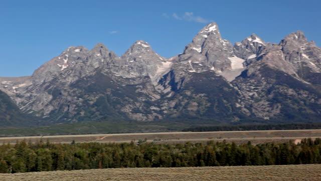 teton mountains - teton range stock videos & royalty-free footage