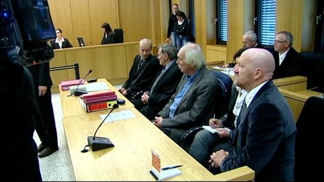 Teun De Groot in court for trial Teun De Groot interview SOT
