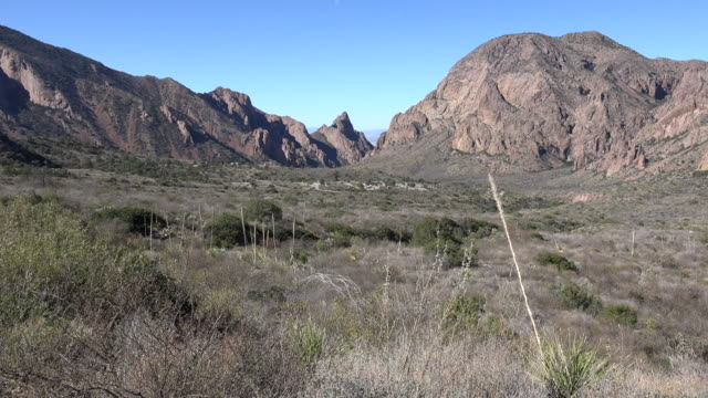 Texas Big Bend Chisos Mountain Basin