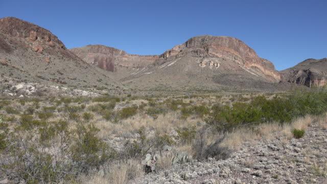 Texas Big Bend desert mountains