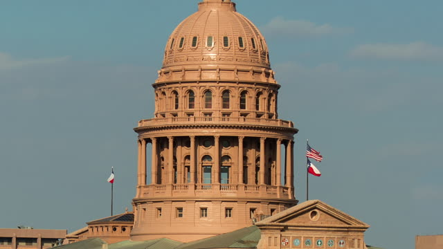 texas capitol dome - capital cities stock videos & royalty-free footage