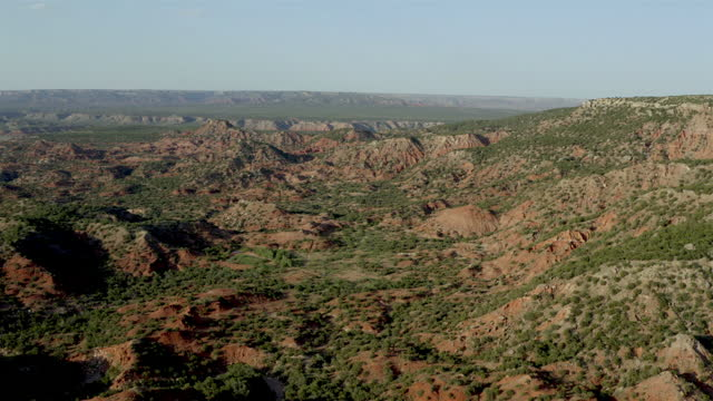 texas caprock: aerial view - panoramic stock videos & royalty-free footage