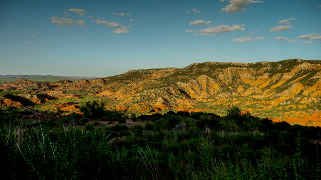 texas caprock: sunset - physical geography stock videos & royalty-free footage