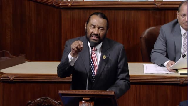 texas congressman al green calls it a seminal moment in time that can shape the future as members of congress must act as their brother's keeper in... - s shape stock videos & royalty-free footage
