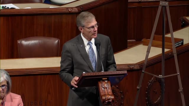 texas congressman brian babin says he is great uncertainty he could get through the speech without being interrupted by a robocall which had become a... - united states congress stock videos & royalty-free footage