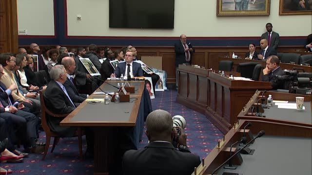 texas congressman colin allred says at a house transportation and infrastructure committee hearing on the boeing 737 max that he hopes boeing ceo... - boeing stock videos & royalty-free footage