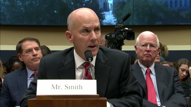 texas congressman joe barton tells former equifax ceo richard smith at a oversight hearing by a house energy and commerce subcommittee that payments... - data breach stock videos and b-roll footage