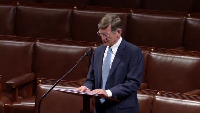 texas congressman lamar smith says in debate on a balanced budget amendment to the constitution that it would protect future generations from... - thomas jefferson stock videos & royalty-free footage