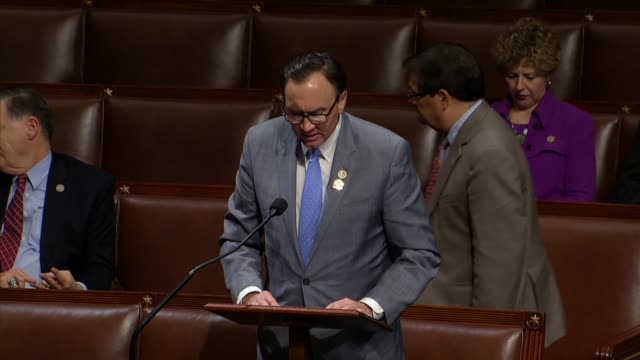 Texas Congressman Pete Olson says in debate on a fourweek spending resolution that Democrats were showing why the American people like root canals...