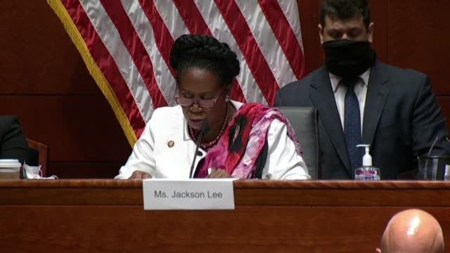 texas congresswoman sheila jackson lee tells attorney general bill barr at a house judiciary committee hearing that the justice department had many... - attorney general stock videos & royalty-free footage