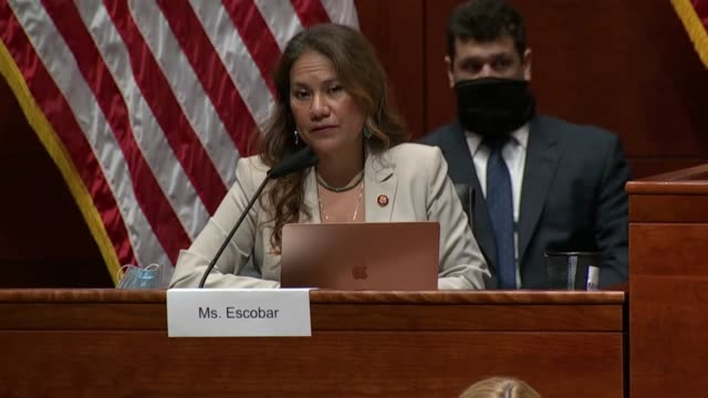 texas congresswoman veronica escobar tells attorney general william barr at a house judiciary committee oversight hearing that he may not remember... - attorney general stock videos & royalty-free footage