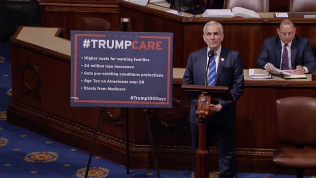 texas democrat lloyd doggett says the harsh indifference of republicans to americans this a strong president donald trump at a tweet storm with fake... - joe pass stock videos and b-roll footage