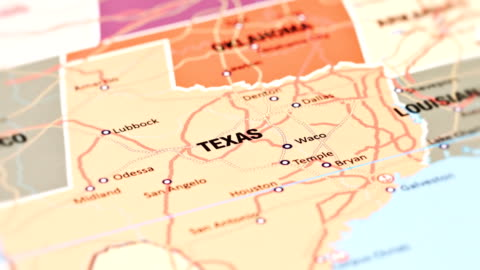 texas from usa states - north stock videos & royalty-free footage