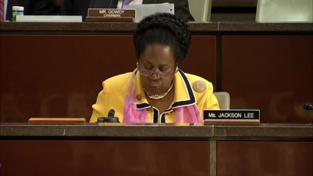 texas representative sheila jackson lee of the house judiciary committee questions inspector general michael horowitz at a joint house hearing on... - michael horowitz stock videos & royalty-free footage