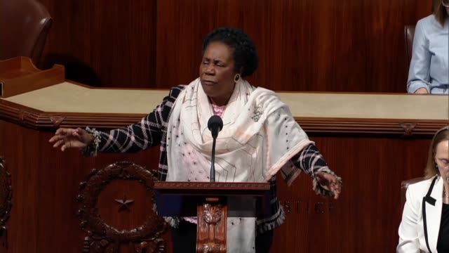 vídeos y material grabado en eventos de stock de texas representative sheila jackson lee says on day 34 of a partial government shutdown it had a ripple effect including the crumbling smithsonian... - instituto smithsoniano