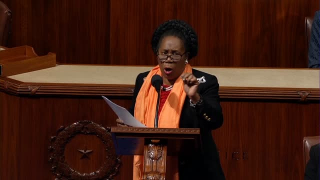 vidéos et rushes de texas representative sheila jackson lee supports the bipartisan background checks act of 2019 in debate, arguing it seemed even though facts were... - avocat juriste