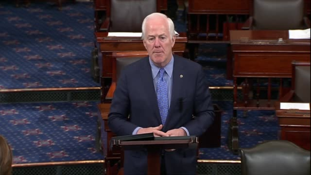 texas senator john cornyn says a day after news that cia director mike pompeo had visited north korea that both connecticut senators had said they... - avenue stock videos & royalty-free footage