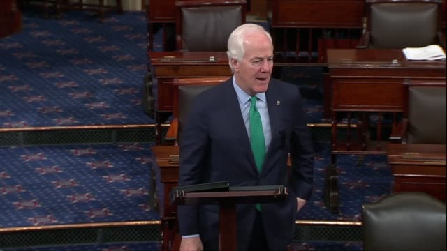 texas senator john cornyn says hours before ceo mark zuckerberg testifies before senate committees he doubts that when people access facebook to... - testimony stock videos & royalty-free footage