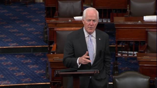 Texas Senator John Cornyn says hours before President Donald Trump announced a nominee to the Supreme Court that his frustration showed with Neil...