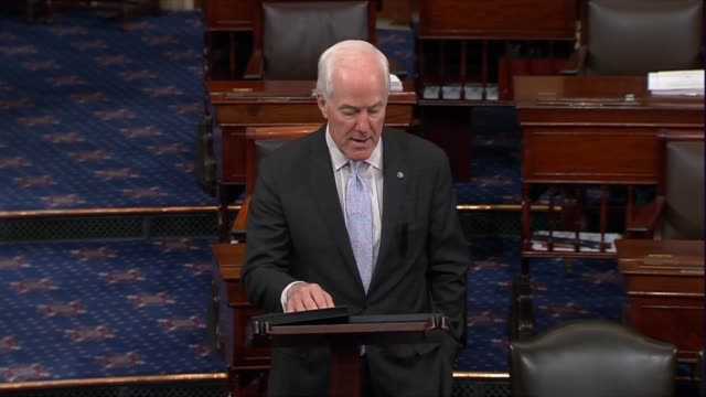 Texas Senator John Cornyn says hours before President Donald Trump announced a nominee to the Supreme Court that senators could meet with the nominee...