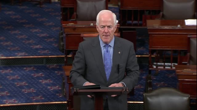 texas senator john cornyn says the american people could be assured that judge brett kavanaugh would get a confirmation vote before the october term... - dragging stock videos & royalty-free footage