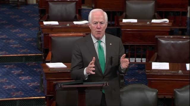 texas senator john cornyn says there was a growing recognition that foreign investors are getting more sophisticated in accessing american technology... - quantum computing stock videos and b-roll footage
