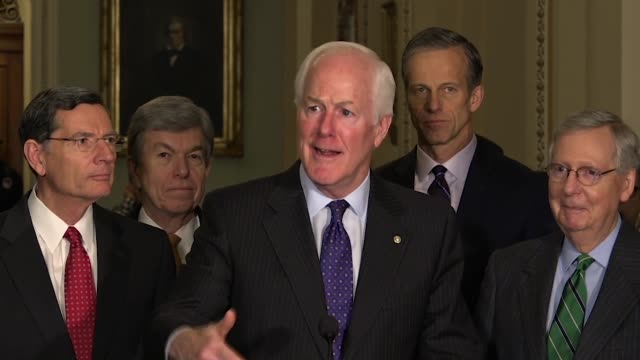 Texas Senator John Cornyn says those who happened to watch a White House meeting on TV it was one of the most extraordinary meetings he had ever...