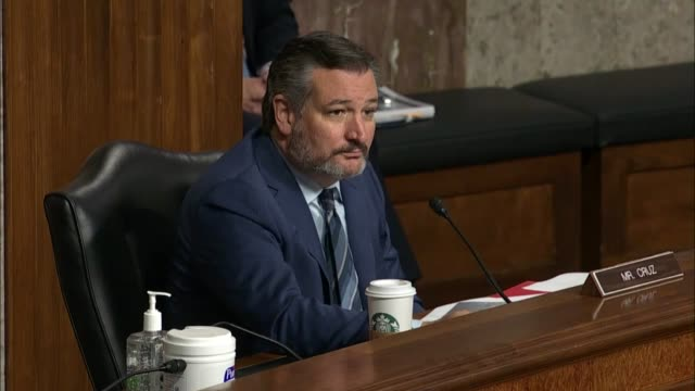 texas senator ted cruz asks former deputy attorney general sally yates at a senate judiciary committee hearing in review of the fbi crossfire... - an answer film title stock videos & royalty-free footage