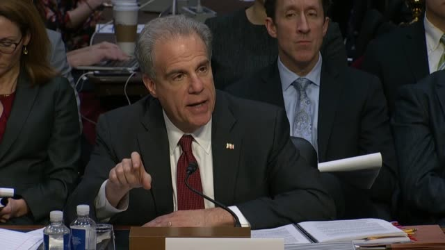 texas senator ted cruz asks justice department inspector general michael horowitz on his report into how the fbi crossfire hurricane investigation... - michael horowitz stock videos & royalty-free footage