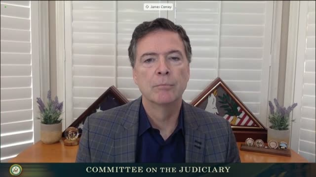 texas senator ted cruz continues an exchange with former fbi director james comey at a senate judiciary committee hearing in review of the 2016... - an answer film title stock videos & royalty-free footage