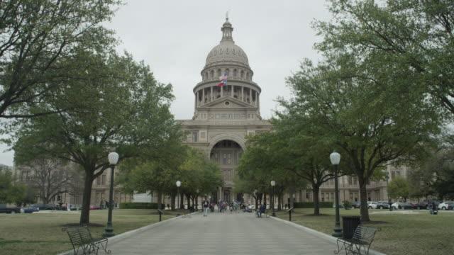 ws texas state capitol building - ローカルな名所点の映像素材/bロール
