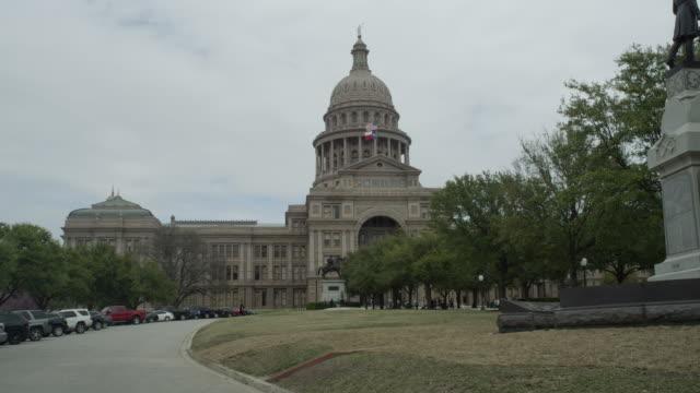 la ws of texas state capitol building - ローカルな名所点の映像素材/bロール