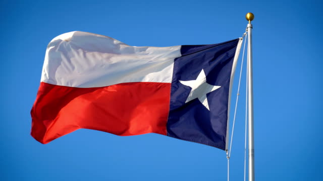texas state flag - corpus christi texas stock videos & royalty-free footage