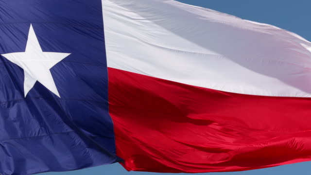 texas state flag - texas stock videos & royalty-free footage
