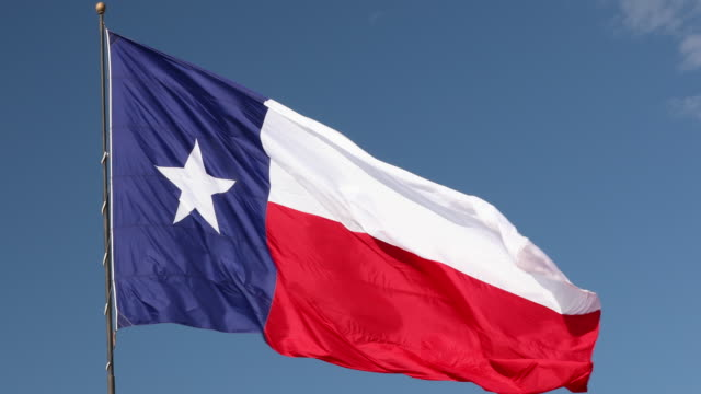 texas state flag - san antonio texas stock videos and b-roll footage