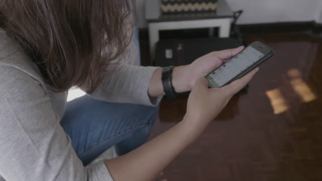Text Massaging Mobile Phone at Home