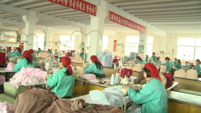 Textile Factory in North Korea
