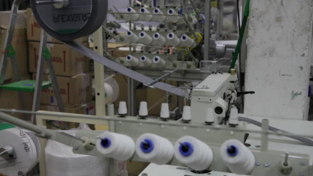 textile factory - silvestre stock videos & royalty-free footage
