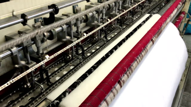 textile machine - textile mill stock videos & royalty-free footage