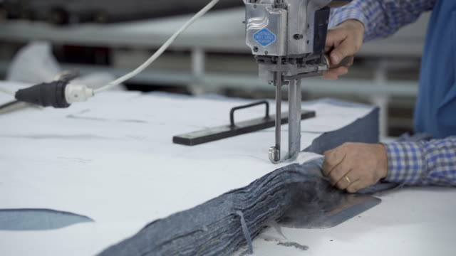 textile manufacturing - for sale stock videos & royalty-free footage
